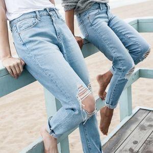 Paige High Rise Boyfriend Jeans